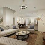 Pride Living Room Rendering