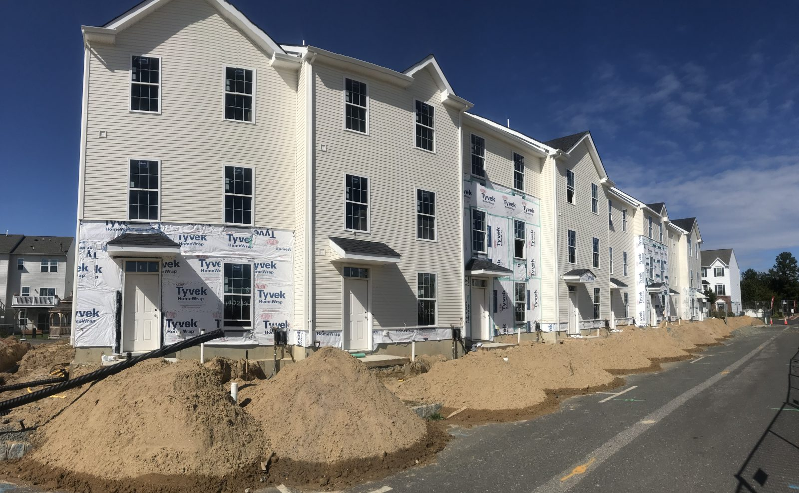 new construction townhomes brick nj